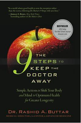 The 9 Steps to Keep the Doctor Away (E-Bôôk ,Free Shipping )