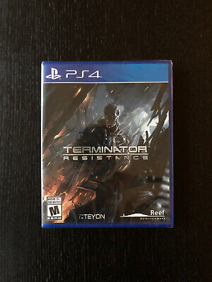 Terminator Resistance NEW Sony PlayStation 4 PS4 Teyon Reef Factory Sealed