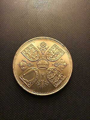 1953 great britain 5 Shilling Coin