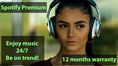 Spotify Premium✅12 months warranty✅Worldwide✅Instant delivery