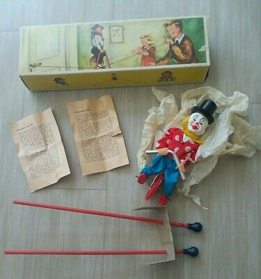 Vintage Cotton Feel Comfort Worlds Smallest Tight-Rope Walker, Neu/Ovp! Clown,