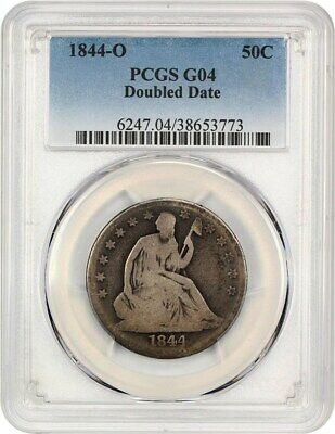 1844-O 50c PCGS Good-04 (Double Date) Liberty Seated Half Dollar