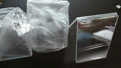 12 Clear Acrylic Plastic 3.5x5.5 Table Tent Menu Holder Card Display Ad Frame