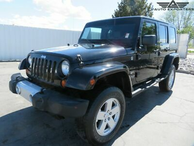 2008 Jeep Wrangler Unlimited Sahara 2008 Jeep Wrangler Salvage Damaged Vehicle! Priced To Sell! Wont Last! Must See!