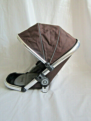 iCandy Peach Main Seat Unit In Black Jack Brown & Grey
