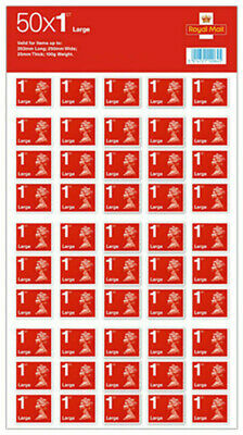 50x BRAND NEW GENUINE 1st 2nd Class Postage Stamps - Small Large -Royal Mail-UK