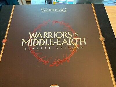 War of the Ring Expansion: Warriors of Middle Earth Limited Edition brand new