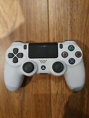 Official Genuine Sony PlayStation PS4 Dualshock 4 White Wireless Controller