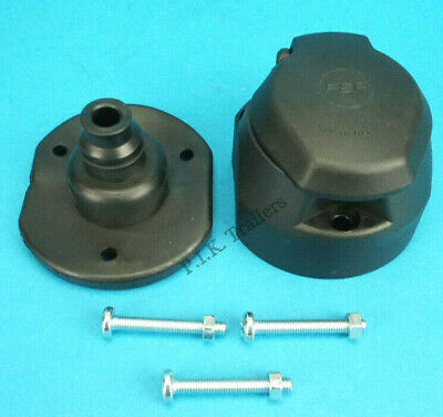 13 Pin Towing Socket with FOG LAMP CUT-OFF with Gasket Seal - Trailer & Caravan
