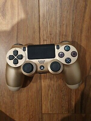 Offical Genuine Sony PlayStation PS4 Dualshock 4 Gold Wireless Controller