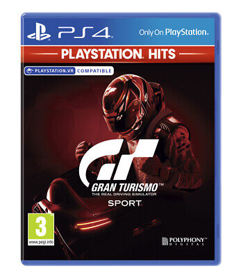 Gran Turismo Sport  PlayStation Hits (PS4) BRAND NEW AND SEALED - QUICK DISPATCH