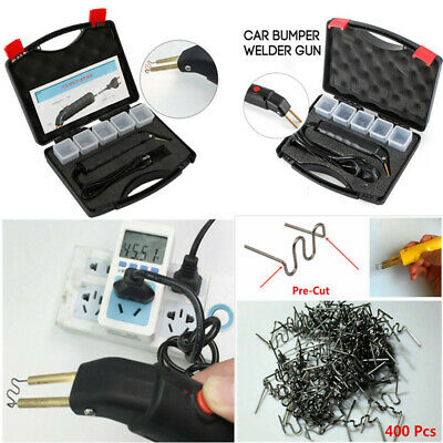1pcs Hot Stapler Car Auto Bumper Fen-der Fairing Weld-er Gun Plastic Repair Kit
