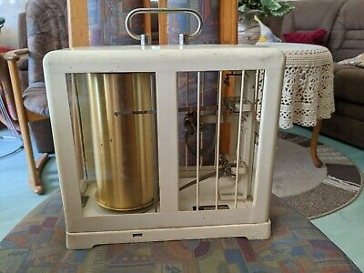Alter Barograph Thermograph Wilh. Lambrecht Typ 252 Hygrometer