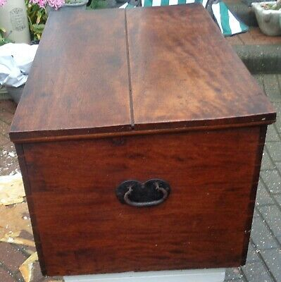 1830 Mahogany Chest/Trunk/Coffee Table/Toy Box