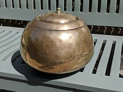 Korean Brass Pot with Lid - good condition