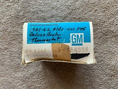 1961-62 Oldsmobile NOS #584335 Deluxe Heater Temperature Control Thermostat