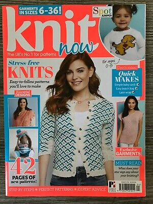 Knit Now Magazine: Issue 104,  No Free Gifts/Supplements