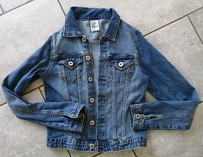 Girls H&M denim jacket Age 10-11