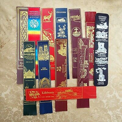 Collection of Bookmarks - Leather bound - Nationwide