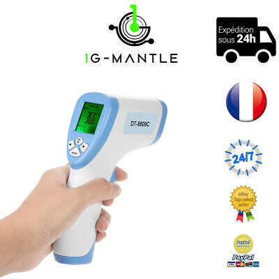 Thermometre Bebe Adulte Medical Sans Contact Frontal Infrarouge Numerique