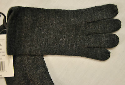 women's Touch & Go one size gloves gray knit use with mobile phone msrp $30