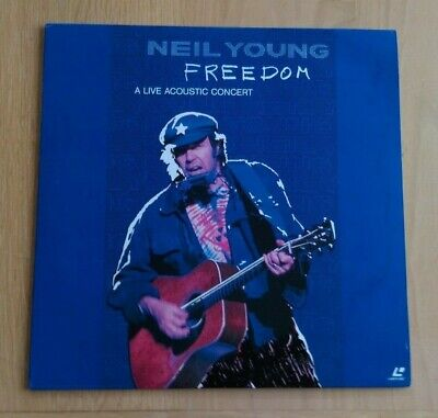 Neil Young: Freedom - Live Acoustic (1989) NTSC Japanese Laserdisc WPLP-9038