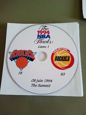 NBA Finals 1994 DVD New York Knicks vs Houston Rockets