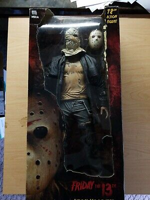NECA Friday The 13th 2009 Jason Voorhees 18 Inch Figure Opened, but mint w/box.