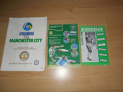 (209) 3 x Manchester City Away in World 1980-2003