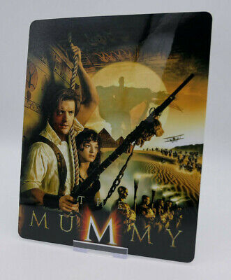 THE MUMMY - Glossy Bluray Steelbook Magnet Cover (NOT LENTICULAR)