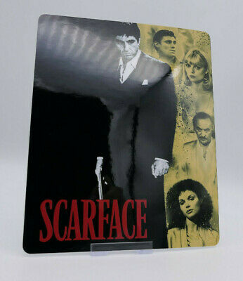 SCARFACE - Glossy Bluray Steelbook Magnet Cover (NOT LENTICULAR)