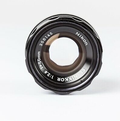 Nikon El-Nikkor 50mm f2.8 Enlarging Lens. Metal Body Version. Exc+++  Condition