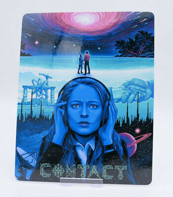 CONTACT - Glossy Bluray Steelbook Magnet Cover (NOT LENTICULAR)