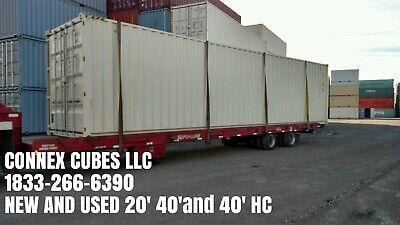 40Ft High Cube One Trip Double Door Shipping Container Long Beach, California