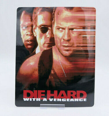 DIE HARD WITH A VENGEANCE Glossy Bluray Steelbook Magnet Cover (NOT LENTICULAR)