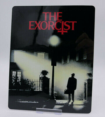 THE EXORCIST - Glossy Bluray Steelbook Magnet Cover (NOT LENTICULAR)