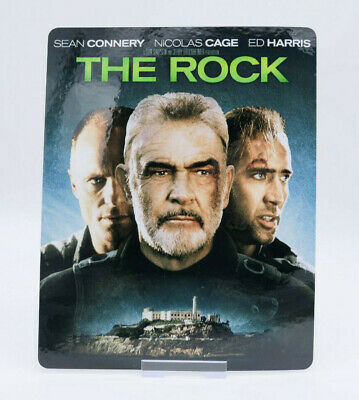 THE ROCK - Glossy Bluray Steelbook Magnet Cover (NOT LENTICULAR)