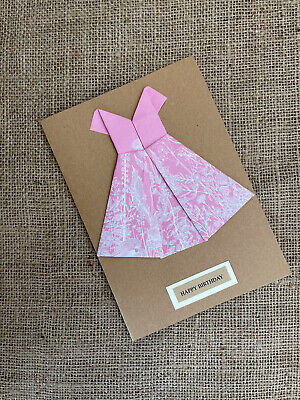 Origami Dress Card - A Spoonful of Sugar | 400x300
