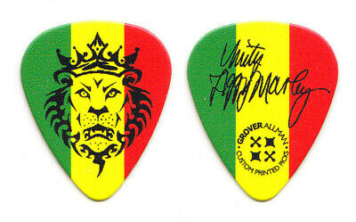 Ziggy Marley Signature Rastafari Lion Of Judah Guitar Pick - 2012 Tour