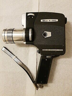 vintage pathescope auto-reflex 8 EEPZ cine camera made in Japan and case