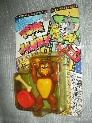 Tom & Jerry SPIKE DOG ACTION FIGURE Fully Poseable Collectible IP 1989 Vintage