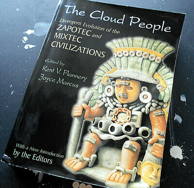 the cloud people  BOOK zopatec mixtec pre columbian