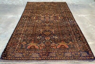 Authentic Hand Knotted Afghan Balouch Wool Area Rug 7 x 4 Ft (786 HM)