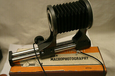 Russian Macro Close up Bellows. M42 fit