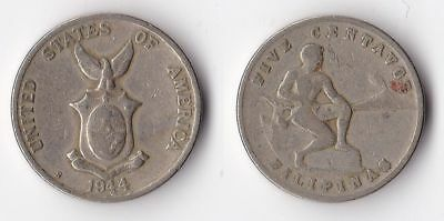 American minted WWII Foreign coin rare ..