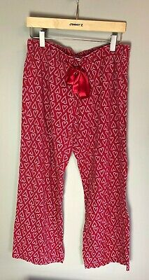"Old Navy  Pajama Pants Candy Cane Heart Medium Women""s"