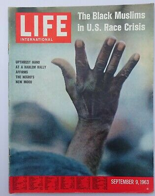 LIFE Magazine International - US Race Crisis / Malcolm X / Notre Dame