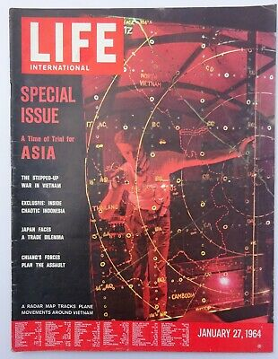 LIFE magazine International - January 27 1964 - Special Issue - Asia / Vietnam