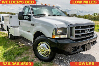 2004 Ford F350 Super Duty Used welder utility bed clean 1 owner low miles nice