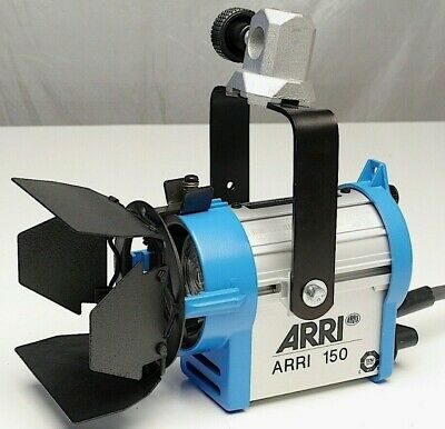 ARRI 150-Watt Tungsten Fresnel Light (120 VAC)-use w/ lowel mole richardson